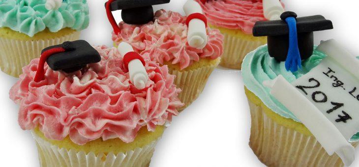 Oslava promoce – recept na promoční cupcake